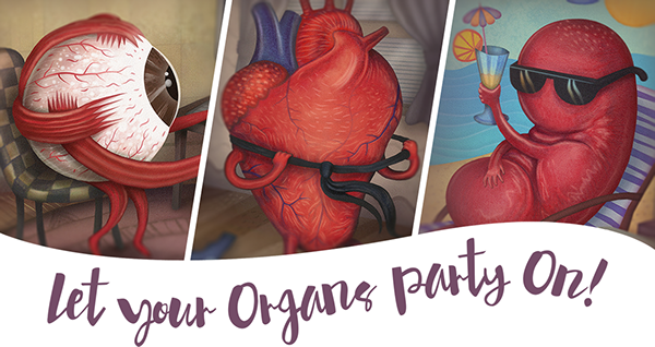 organs party on